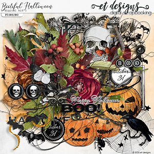 Bootiful Halloween Kit by et designs
