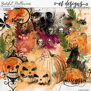 Bootiful Halloween Playing with Brushes by et designs