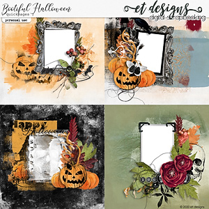 Bootiful Halloween Quickpages by et designs