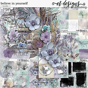 Believe in Yourself Bundle by et designs