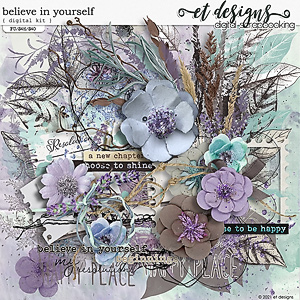 Believe in Yourself Kit by et designs