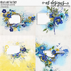 Blue Like The Sky Quickpages 2