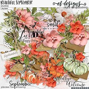 Beautiful September Clusters
