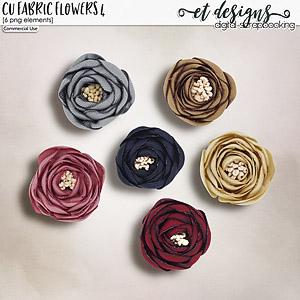 CU Fabric Flowers vol.4