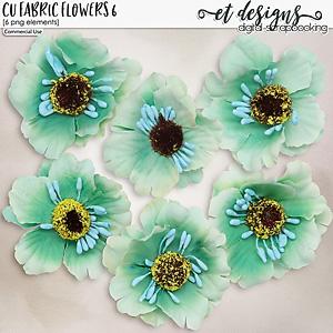 CU Fabric Flowers 6