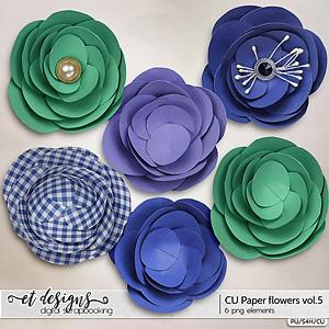 CU Paper Flowers vol.5