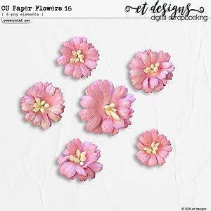 CU Paper Flowers vol.16