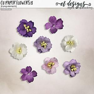 CU Paper Flowers vol.13