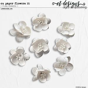 CU Paper Flowers vol.15