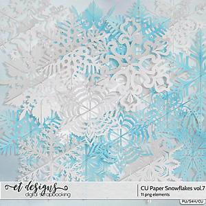 CU Paper Snowflakes vol.7