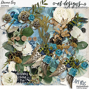 Dream Big Clusters by et designs