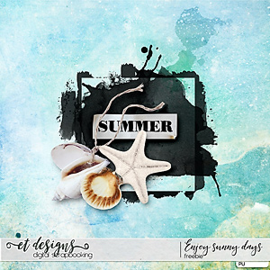 Enjoy Sunny Days Mini