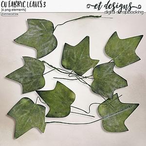 CU Fabric Leaves 3