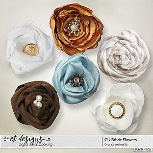 CU Fabric Flowers