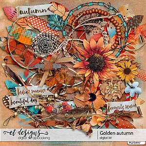 Golden Autumn kit & alpha