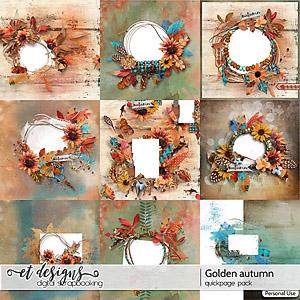 Golden Autumn Quickpages