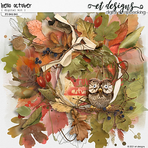 Hello October Kit by et designs