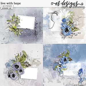 Live with Hope Quickpages