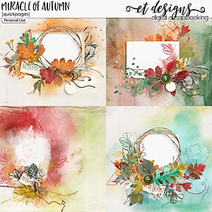 Miracle of Autumn Quickpages