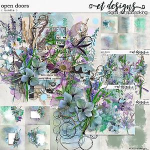 Open Doors Bundle by et designs