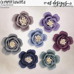 CU Paper Flowers vol.8