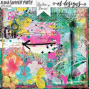 Aloha Summer Party Artsy Pack