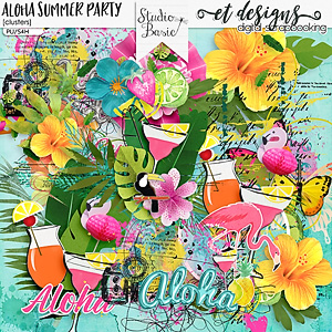 Aloha Summer Party Clusters