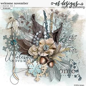 Welcome November Kit