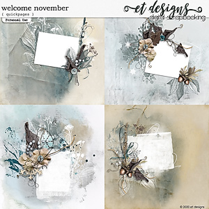 Welcome November Quickpages