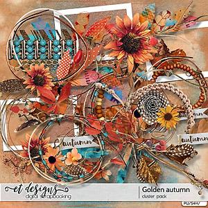 Golden Autumn Clusters