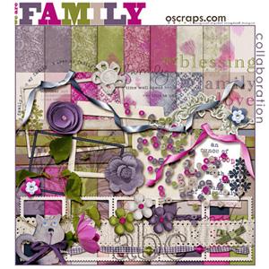 Family :: Oscraps Collaborative Kit