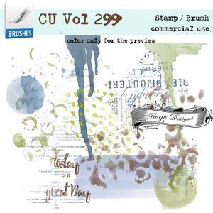 CU vol 299 Mix Brush { Florju Designs }