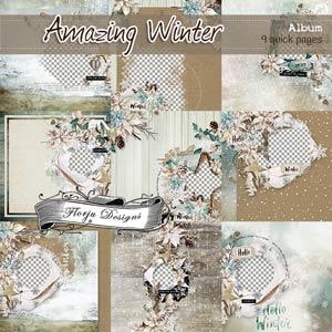Amazing Winter { Album PU } by Florju Designs
