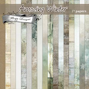Amazing Winter { Papers PU } by Florju Designs