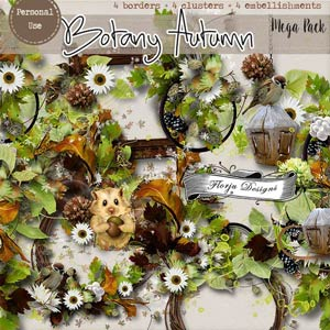 Botany Autumn { Mega pack PU } by Florju Designs