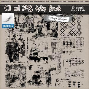 CU vol 293 Artsy Stamp { Florju Designs }