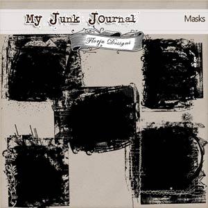 My Junk Journal [ Masks PU ] by Florju Designs