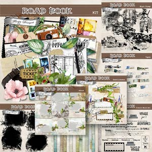 Road Book [ Bundle PU ] by Florju Designs