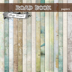 Road Book [ Papers PU ] by Florju Designs