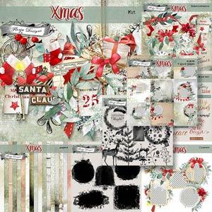 Xmas Bundle PU by Florju Designs
