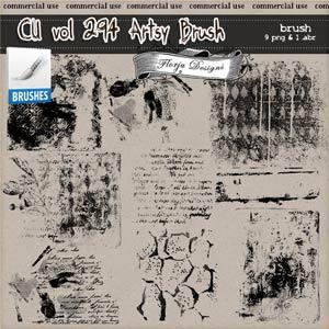 CU vol 294 Artsy Stamp { Florju Designs }