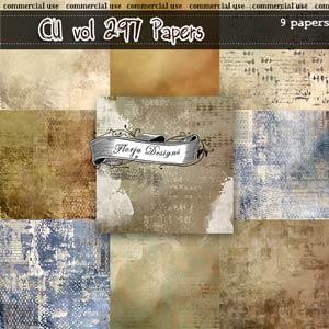 CU vol 297 Papers { Florju Designs }