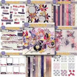 September { Bundle PU } by Florju Designs