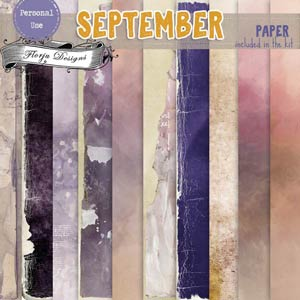 September { Papers PU } by Florju Designs