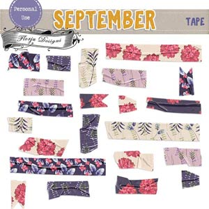 September { Tapes PU } by Florju Designs