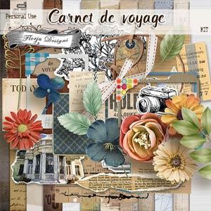 Carnet de Voyage { Kit PU} by Florju designs