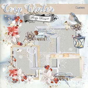 Cosy Winter { Cluster PU } by Florju Designs
