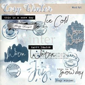 Cosy Winter { English WA PU } by Florju Designs