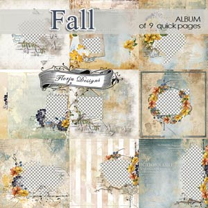 Fall [ Album PU ] by Florju Designs