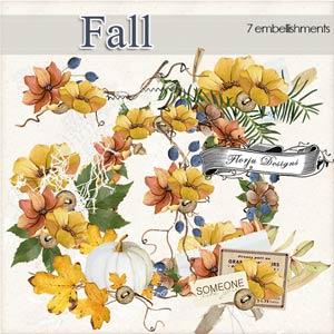 Fall [ Embellishments PU ] by Florju Designs